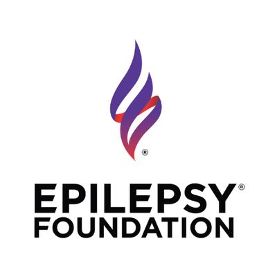 Epilepsy Foundation logo.